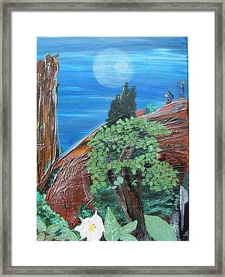Sacred Moon Framed Print