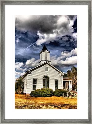 Sacred Skies Framed Print by Greg Sharpe