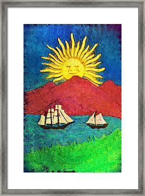 Safe Harbor Framed Print by Bill Cannon
