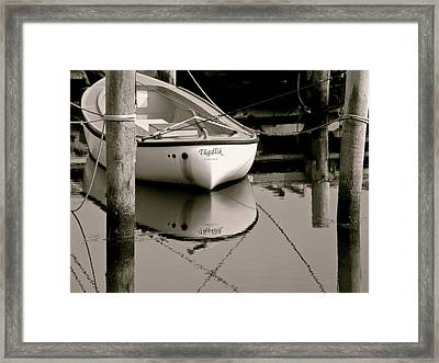 Safe Harbor Framed Print by Odd Jeppesen