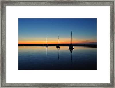 Safe Harbor Framed Print by Steve Goddard