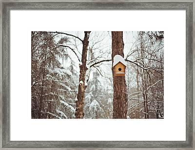 Safe Home Framed Print