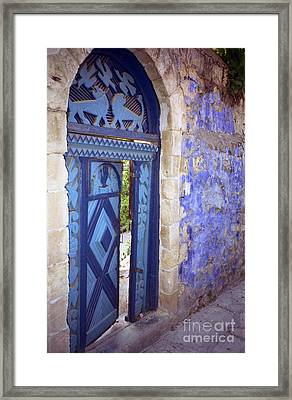 Safed Door Framed Print