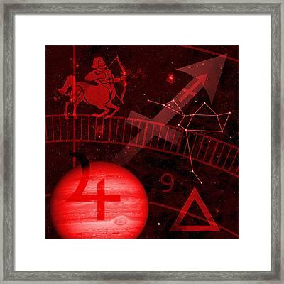 Sagittarius Framed Print by JP Rhea