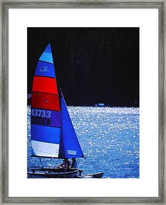 Sail Away Framed Print by Richard Stillwell