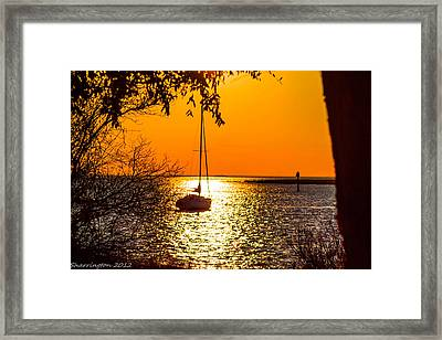 Framed Print featuring the photograph Sail Away by Shannon Harrington