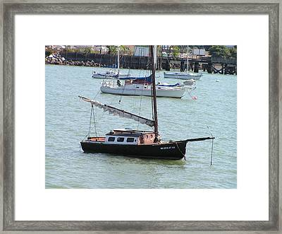Framed Print featuring the photograph Sailboats Of Bellingham Bay by Rand Swift