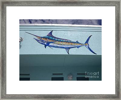 Sailfish Splash Park 1 Framed Print by Carey Chen