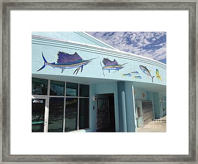 Sailfish Splash Park 5 Framed Print by Carey Chen
