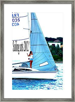Sailing Arts Framed Print by Rogerio Mariani