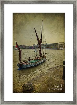 Sailing Away... Framed Print by Clare Bambers