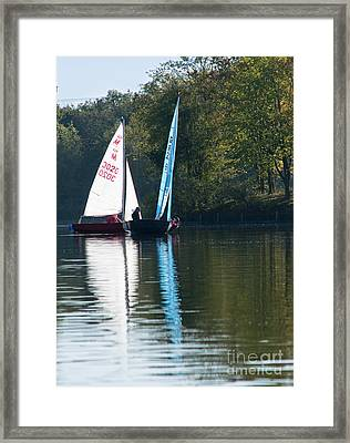 Sailing Boats Framed Print by Andrew  Michael