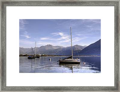 Sailing Boats Framed Print by Joana Kruse