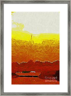 Sailor's Dream Framed Print by Joan McArthur
