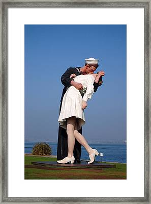 Sailor's Kiss Framed Print
