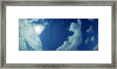 Sailplane Over Raf Tibenham Framed Print by Jan W Faul