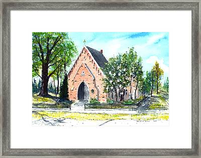 Saint Andrew's Episcopal Church Framed Print by Patrick Grills