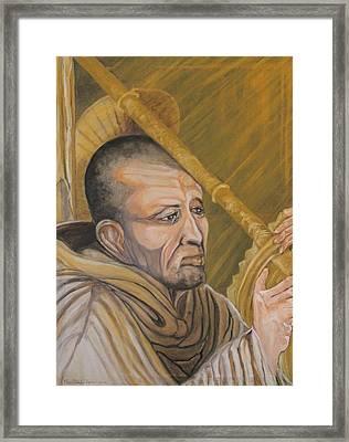 Saint Bernard Of Clairveaux Framed Print