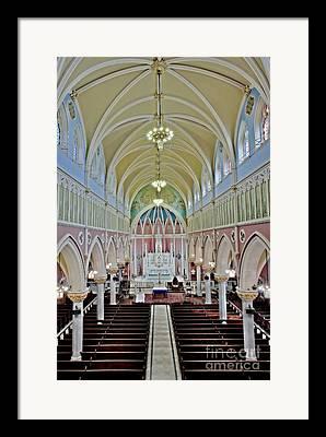 Saint Briget Framed Prints
