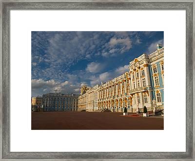 Saint Catherine Palace Framed Print
