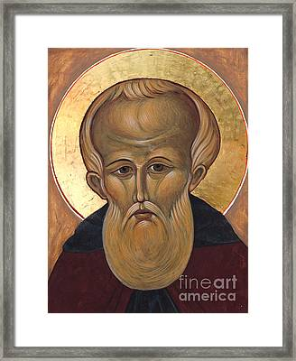 Saint Demetrius Framed Print by Christine Hales