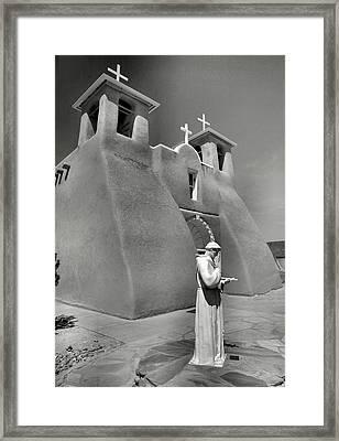 Saint Francis And San Francisco De Asis Church I Framed Print by Steven Ainsworth