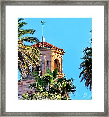Saint James By The Sea Framed Print by Russ Harris
