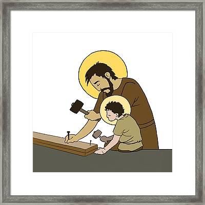 Saint Joseph Framed Print