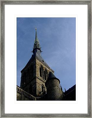 Saint Michael At The Top Framed Print