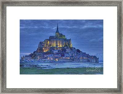 Saint Michaels Mount  Framed Print by Heiko Koehrer-Wagner