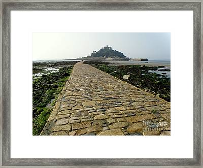 Framed Print featuring the photograph Saint Michael's Mount by Lainie Wrightson