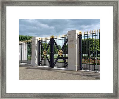 Saint Mihiel Wwi American Cemetery  France Framed Print by Joseph Hendrix