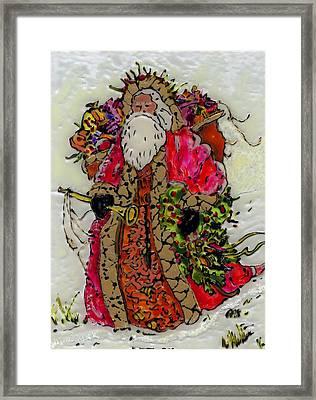 Saint Nicholas Framed Print by Phil Strang