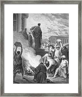 Saint Paul (d. 67 A.d.) Framed Print by Granger
