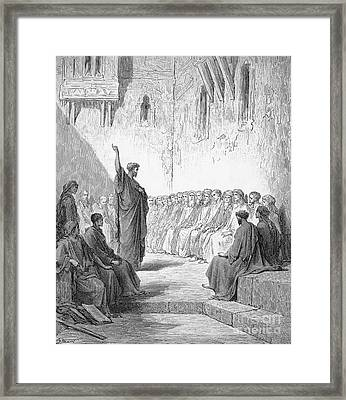 Saint Paul (d.67 A.d.) Framed Print by Granger
