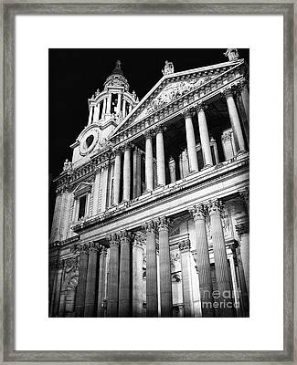Saint Paul's Cathedral - Front Framed Print by Thanh Tran