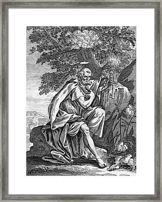 Saint Peter (d. 67) Framed Print by Granger