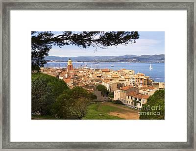 Saint Tropez 1 Framed Print by John James