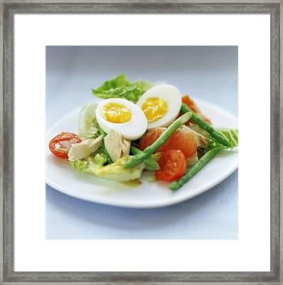 Salad Framed Print by David Munns