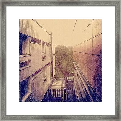 Salford University, Feb - 2012 | Framed Print