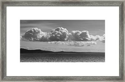 Salish Sea Framed Print
