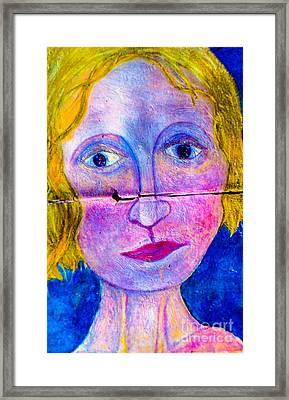 Sally Framed Print by Bill Davis