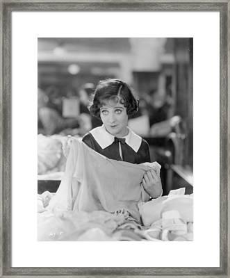 Sally Oneil: Becky, 1927 Framed Print by Granger