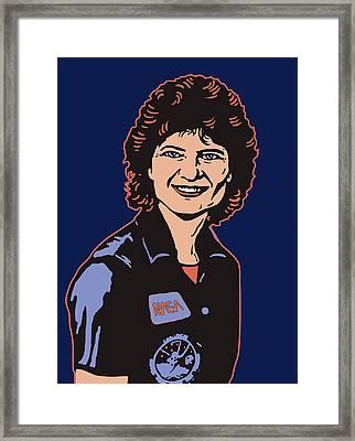 Sally Ride Phd Framed Print