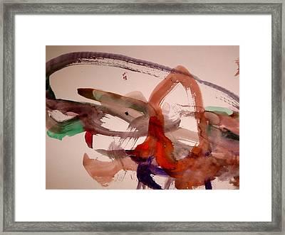 Salmon Framed Print by Michael Church