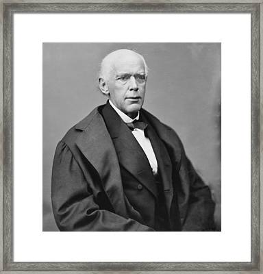Salmon P. Chase 1808-1873, As Chief Framed Print by Everett