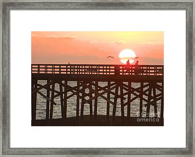 Framed Print featuring the photograph Salt Air by Everette McMahan jr