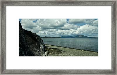 Salti-phi Framed Print by Travis Crockart