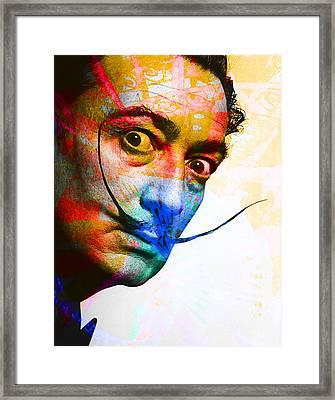 Salvador Dali Framed Print by Andrew Osta