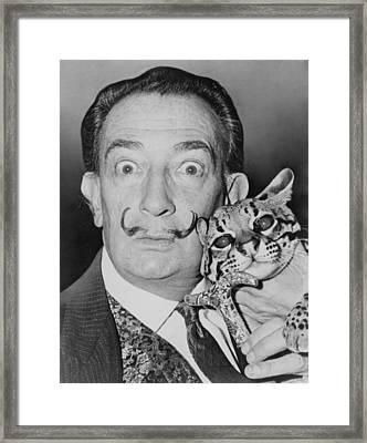 Salvadore Dali 1904-1989, Eccentric Framed Print by Everett